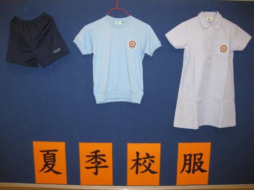 小学夏季校服设计图展示图片
